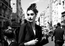 Sarah Boursin After Jean Paul Gaultier show